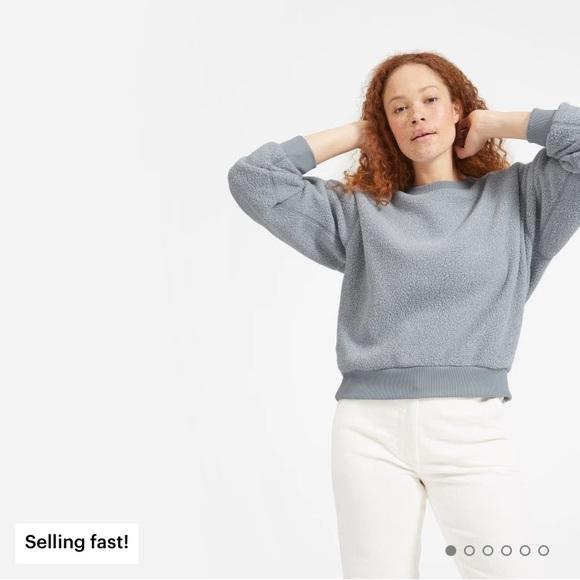 Everlane Tops - Everlane Renew Fleece Oversized Sweatshirt